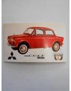 Χαρτάκι ΡΑΛΛΥ Αυτοκίνητα Νο 4