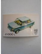 Χαρτάκι ΡΑΛΛΥ Αυτοκίνητα Νο 17