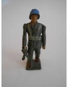 Στρατιωτάκι ΠΑΛ Κυανόκρανος με Οπλοπολυβόλο