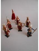 Σετ 6 Στρτιωτάκια Προσωπική Φρουρά του Σουλτάνου
