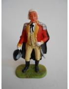 Στρατιωτάκι Ελαστολίν Βρετανός Διοικητής