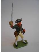 Στρατιωτάκι Ελαστολίν Αμερικάνος Αξιωματικός